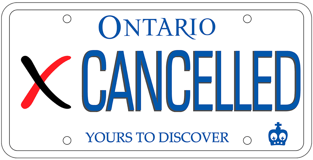 Auto Insurance Cancelled Ontario 1
